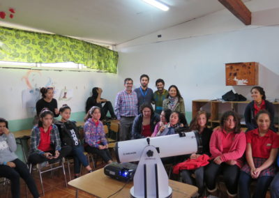 Monday 8th: Francisco Forster, San Sebastian de Akivi School