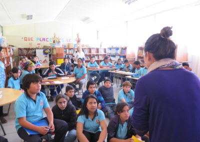 Monday 8th: Outreach Activities, Lorenzo Baeza Vega School