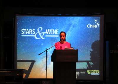 Monday 8th: Camila Salas, Stars & Wine Event
